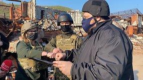 R.Stafančiukas prašo didinti spaudimą Rusijai – Ukrainos pasienyje ji sutelkė virš 100 tūkst. karių