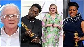 """Faktai ir rekordai """"Oskarų"""" apdovanojimuose: A.Hopkinso rekordas, geriausios režisierės apdovanojimas Kinijai ir  juodaodžių įvertinimai"""
