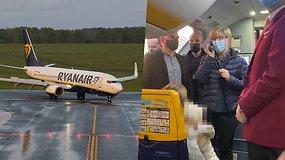 I.Šimonytė lėktuve pasitiko iš Minsko paskridusius lietuvius: labai apgailestauju dėl visų išgyvenimų