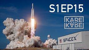 """Kas yra """"SpaceX"""" ir kaip toli driekiasi jos kosminės ambicijos"""