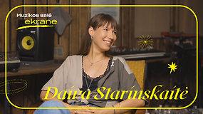 Daiva Starinskaitė apie solinę karjerą, repą, grupę Keymono ir Londoną | Muzikos salė ekrane