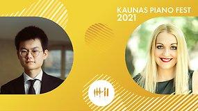 Kaunas piano fest 2021 | Inga Liukaitytė ir Fanyu Zeng