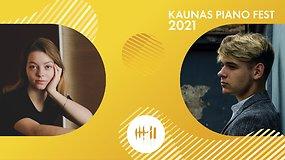 Kaunas piano fest 2021 | Stefanie-Anastasija Richter ir Arminas Suchovas
