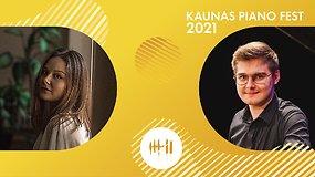 Kaunas piano fest 2021 | Lina Žutautaitė ir Mateusz Maciolek