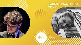 Kaunas piano fest 2021 | Giuliano Tuccia ir Paula Bagotyriūtė