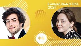 Kaunas piano fest 2021 | Alexandre Madjar ir Mariia Kurhuzova