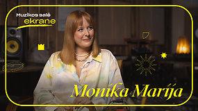 Monika Marija apie naują etapą, būsimą albumą ir koliažinę operą Mažvydas   Muzikos salė ekrane