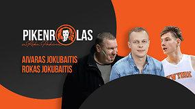 """PIKENROLAS: Aivaras ir Rokas Jokubaičiai – kelias nuo Mažeikių iki """"New York Knicks"""""""