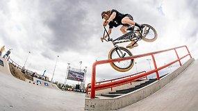"""""""Simple session 21"""": BMX dviračių sporto finalas (Talinas, Estija)"""