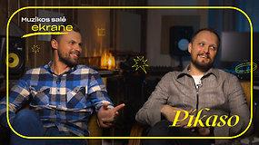 Pikaso apie grupės sudėties pokyčius, būsimą turą ir naujus įrašus | Muzikos salė ekrane