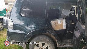 Autoserviso teritorijoje rasta kontrabandinių rūkalų