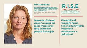 """Kampanija """"Santuoka visiems"""": naujausi tos pačios lyties šeimos teisių pripažinimo pokyčiai Šveicarijoje (anglų k.)"""