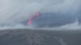 Šalia Madagaskaro esančioje Reunjono saloje išsiveržė ugnikalnis