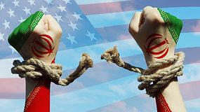 Iranas dėl koronaviruso laikinai išlaisvino 70 000 kalinių