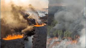 Černobylyje siaučiantys gaisrai: kol kas radiacijos lygis neviršija leistinos normos