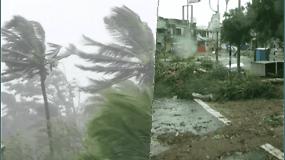 Vienas galingiausių uraganų jau pasiekė Indijos krantus