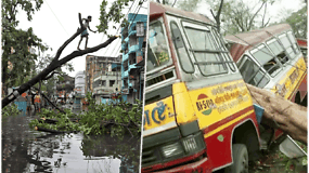 Indijai ir Bangladešui stichija smogė stipriau nei tikėtasi: superciklonas jau nusinešė mažiausiai 22 žmonių gyvybes