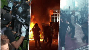Žiaurumu pratrūkę protestai JAV toliau kelia chaosą: kas įžiebė visuomenės pyktį – priežastys ir pasekmės