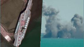 """Per karines pratybas Iranas paleido raketą į JAV lėktuvnešio maketą – Amerika tokius veiksmus vadina """"neatsakingais"""""""
