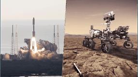 NASA sėkmingai paleido naujausią marsaeigį, kuris Marse ieškos gyvybės pėdsakų