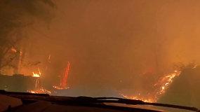 Kalifornijoje nepavyksta suvaldyti žaibo sukeltų gaisrų – evakuojami žmonės, mažiausiai 5 žuvo