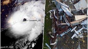 """Uraganas """"Laura"""" pareikalavo mažiausiai 6 gyvybių, griovė namus, sukėlė potvynius"""