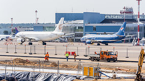 Iš Vilniaus oro uosto: per pandemiją vyksta dideli atnaujinimo darbai