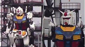 Milžiniškas japonų robotas tapo tikra interneto sensacija: judina kojas ir rankas, gali net atsiklaupti