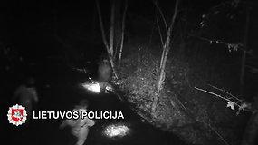 Policija sučiupo brakonierius – draustinyje sugautos lašišinės žuvys atsieis brangiai
