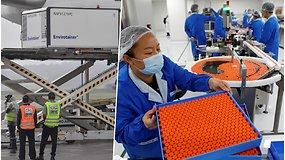 Transportuotos pirmosios Brazilijos bandomos Kinijos sukurtos vakcinos nuo COVID-19 dozės