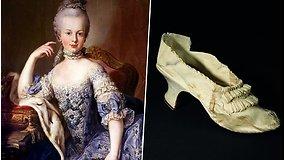 Stulbinanti prabanga: karalienės Marijos Antuanetės kurpaitė parduota beveik už 44 tūkst. eurų
