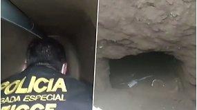 Pareigūnai sugriovė kalinių pabėgimo planus – aptiko 180 m. ilgio tunelį, vedantį link kalėjimo