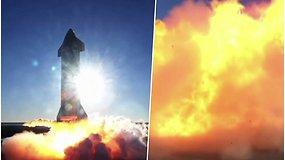 """""""SpaceX"""" raketos """"Starship"""" prototipas sprogo praėjus vos kelioms minutėms po bandomojo paleidimo"""