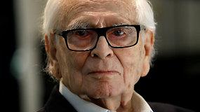 Sulaukęs 98 m. mirė mados pasaulio legenda Pierre'as Cardinas