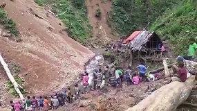 Purvo nuošliauža palaidojo 15 trobelėje miegojusių žmonių, tarp jų – 3 vaikai