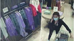 Kameros užfiksavo stiprų žemės drebėjimą parduotuvėje: siūbavo drabužių kabyklos, krito daiktai