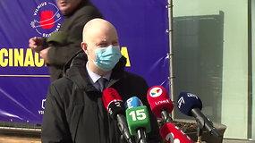 """A.Verygos komentarai po skiepo """"AstraZeneca"""" vakcina: """"Nebūčiau stabdęs vakcinacijos"""""""