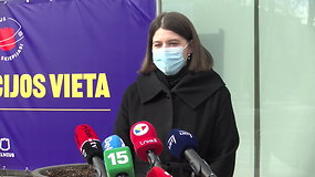 "Finansų ministrės G.Skaistės komentarai po skiepo ""AstraZeneca"" vakcina nuo COVID-19"
