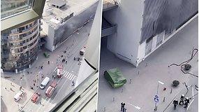 """Sostinės centre sprogus transformatorinei evakuotas prekybos centras """"Europa"""""""