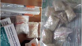 Klaipėdoje rasta narkotinių medžiagų, kurių vertė gali viršyti 18 tūkst. eurų