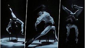 Neįtikėtinas šokis po vandeniu – per filmavimą šokėjai teko išnerti 120 kartų, kad įkvėptų oro