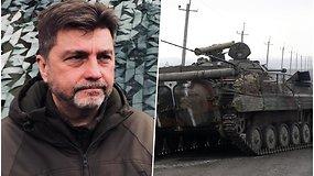 Ukraina išlaiko budrumą: viceministras sako, kad rusų karių dar neįprastai daug