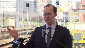 Susisiekimo ministras M.Skuodis žada plėsti 5G, elektromobilių įkrovimo tinklą ir skrydžių kryptis