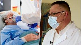 Pandemija neurochirurgo akimis: pacientai atvyksta kritinės būklės, dirbame neskaičiuodami valandų
