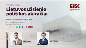 Lietuvos užsienio politikos akiračiai. Svečias – Užsienio reikalų ministras G.Landsbergis