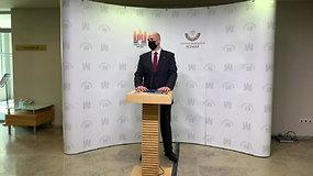 M.Puidoko padėjėjas įtariamas prekyba poveikiu – komentarai iš Seimo