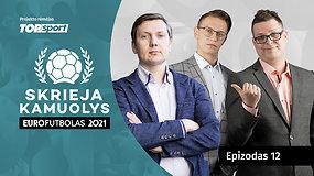 """""""Skrieja kamuolys"""": lagaminas–stotis–Maskva, Danijos stebuklas ir škotų šansas"""