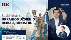 Susitikimas su Ukrainos užsienio reikalų ministru