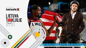 """""""Lietuva Tokijuje"""": žirgų kaprizai Tokijuje ir auksinės NBA žvaigždės"""