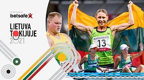 """""""Lietuva Tokijuje"""" su V.Alekna: kur esame su vienu medaliu žaidynėse?"""